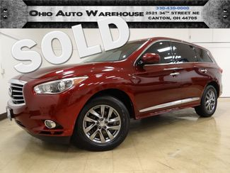 2013 Infiniti JX35 AWD Navi Tv/DVD Sunroof Cln Carfax We Finance | Canton, Ohio | Ohio Auto Warehouse LLC in  Ohio