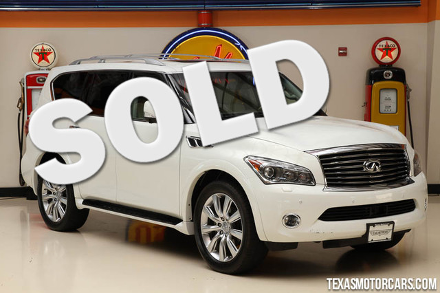 2013 Infiniti QX56 This 2013 Infiniti QX56 is in great shape with only 77 260 miles The QX56 has