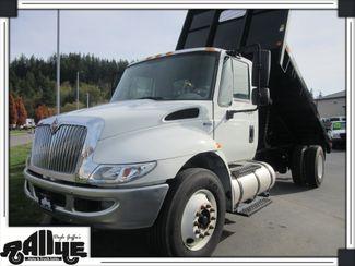 2013 International 4300 Durastar Model Flatbed Dump 7.6L Diesel Burlington, WA