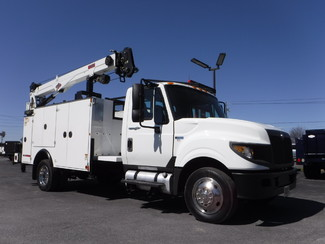 2013 International Terrastar 11FT Utility with 7500 LB 30FT Crane  in Lancaster, PA PA
