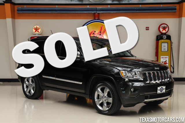 2013 Jeep Grand Cherokee Overland This Carfax 1-Owner 2013 Jeep Grand Cherokee Overland is in great