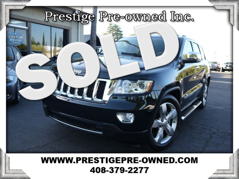 2013 Jeep Grand Cherokee Overland ((**4X4**))--NAVIGATION & BACK UP CAMERA  in Campbell CA