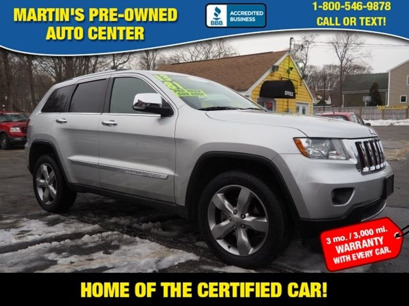 2013 Jeep Grand Cherokee Limited | Whitman, Massachusetts | Martin's Pre-Owned