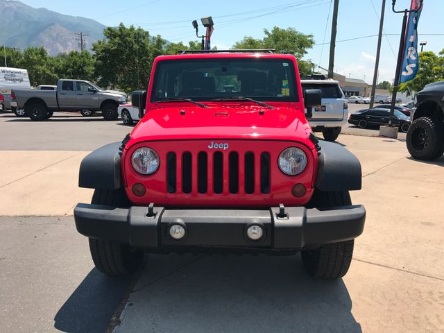 2013 Jeep Wrangler Sport Ogden, Utah 8