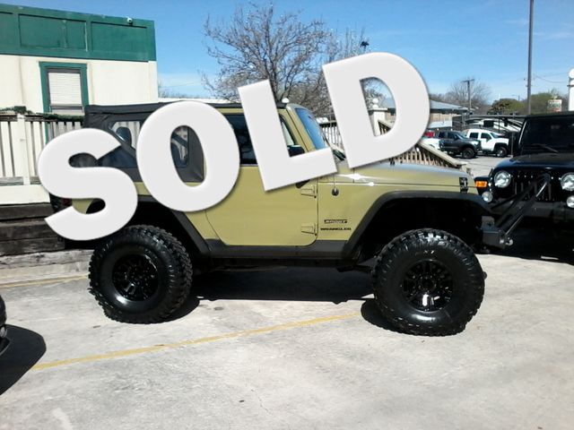 "2013 Jeep Wrangler Sport 4"" Lift San Antonio, Texas 0"