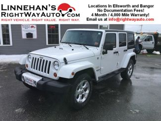 2013 Jeep Wrangler Unlimited in Bangor, ME