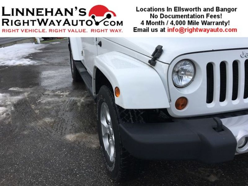 2013 Jeep Wrangler Unlimited Sahara  in Bangor, ME