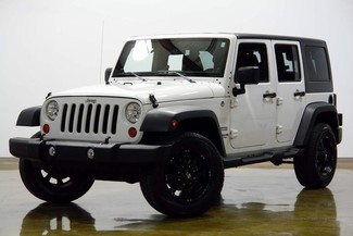 2013 Jeep Wrangler Unlimited in Dallas Texas