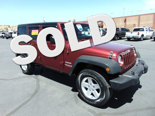 2013 Jeep Wrangler Unlimited Sport | Kingman, Arizona | 66 Auto Sales in Kingman Arizona