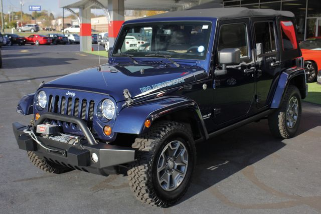2013 Jeep Wrangler Unlimited Rubicon 4X4 - NAVIGATION - HEATED LEATHER - WINCH! Mooresville , NC 24