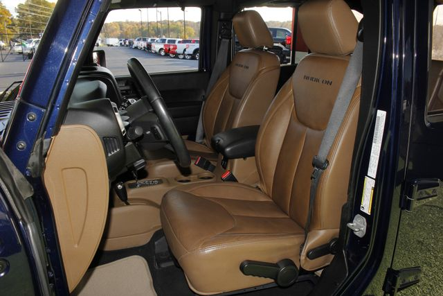 2013 Jeep Wrangler Unlimited Rubicon 4X4 - NAVIGATION - HEATED LEATHER - WINCH! Mooresville , NC 8