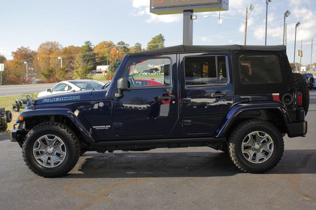 2013 Jeep Wrangler Unlimited Rubicon 4X4 - NAVIGATION - HEATED LEATHER - WINCH! Mooresville , NC 16