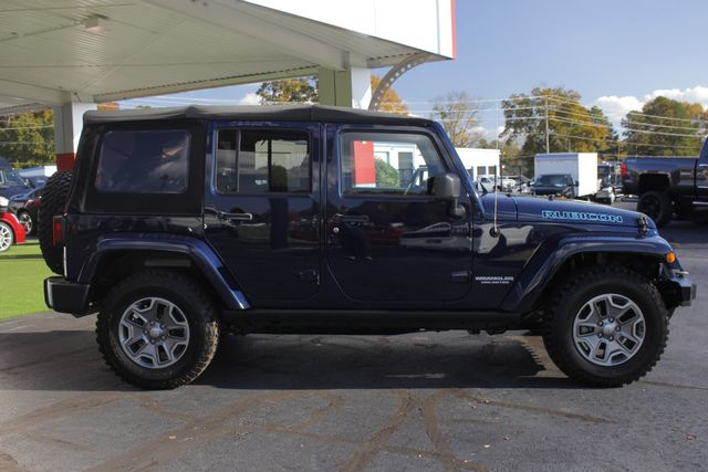 2013 Jeep Wrangler Unlimited Rubicon 4X4 - NAVIGATION - HEATED LEATHER - WINCH! Mooresville , NC 15
