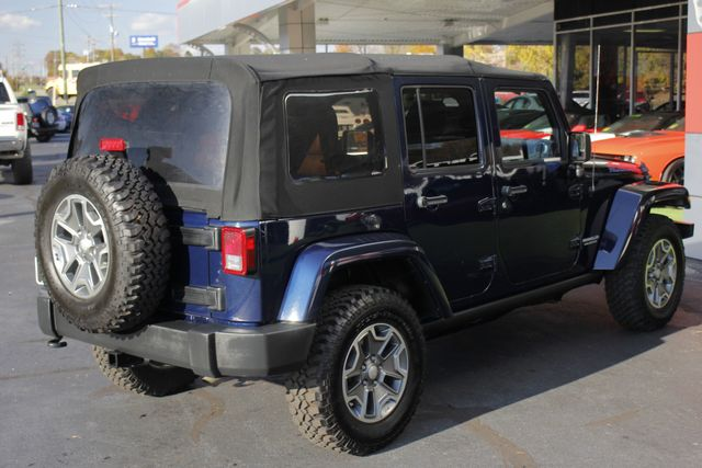 2013 Jeep Wrangler Unlimited Rubicon 4X4 - NAVIGATION - HEATED LEATHER - WINCH! Mooresville , NC 25