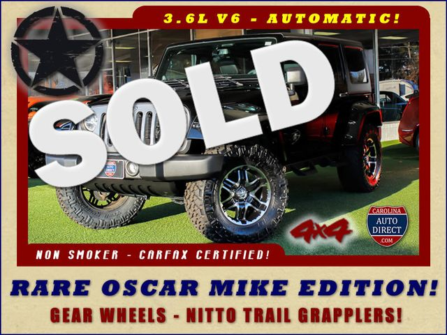 2013 Jeep Wrangler Unlimited Freedom Edition 4X4 - RARE OSCAR MIKE! Mooresville , NC 0
