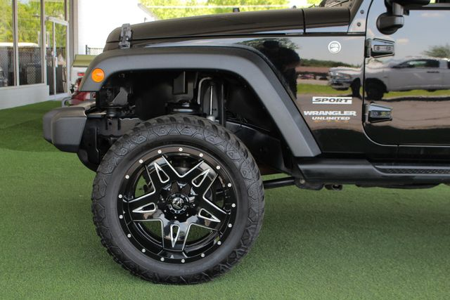 2013 Jeep Wrangler Unlimited Sport 4X4 - LIFTED - EXTRA$ - BLUETOOTH! Mooresville , NC 19