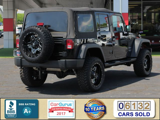 2013 Jeep Wrangler Unlimited Sport 4X4 - LIFTED - EXTRA$ - BLUETOOTH! Mooresville , NC 2