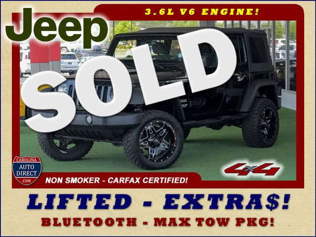 2013 Jeep Wrangler Unlimited Sport 4X4 - LIFTED - EXTRA$ - BLUETOOTH! Mooresville , NC 0