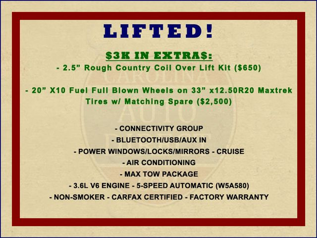 2013 Jeep Wrangler Unlimited Sport 4X4 - LIFTED - EXTRA$ - BLUETOOTH! Mooresville , NC 1