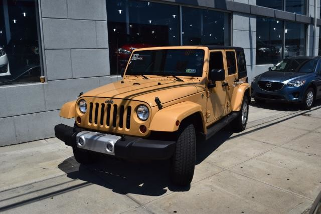 2013 Jeep Wrangler Unlimited Sahara Richmond Hill, New York 0