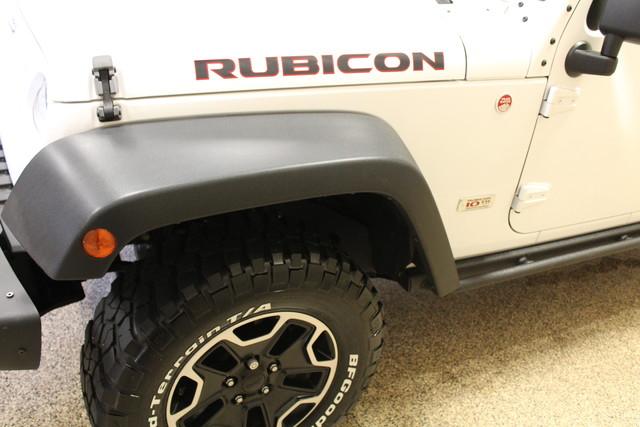 2013 Jeep Wrangler Unlimited Rubicon 10th Anniversary Roscoe, Illinois 19