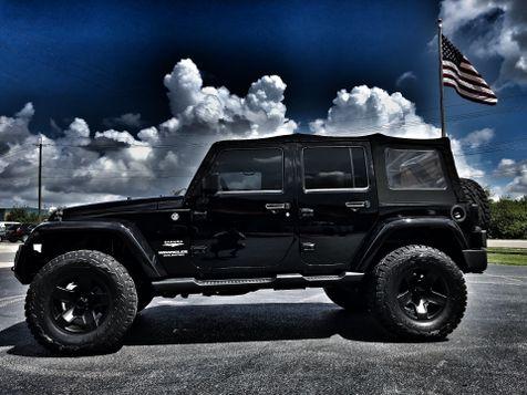 2013 Jeep Wrangler Unlimited LIFTED SAHARA NAV OCD 35