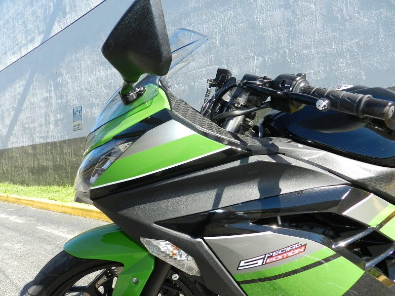 2013 Kawasaki Ninja 300 w Two Bros Exahust  city Florida  MC Cycles  in Hollywood, Florida
