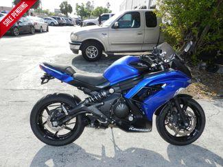 2013 Kawasaki Ninja 650 EX650EDF Ninja 650 in Hollywood, Florida