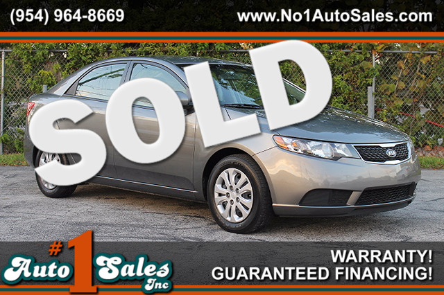 2013 Kia Forte EX  FACTORY WARRANTY CARFAX CERTIFIED 1 OWNER GAS SAVER FLORIDA VEHICLE TRA
