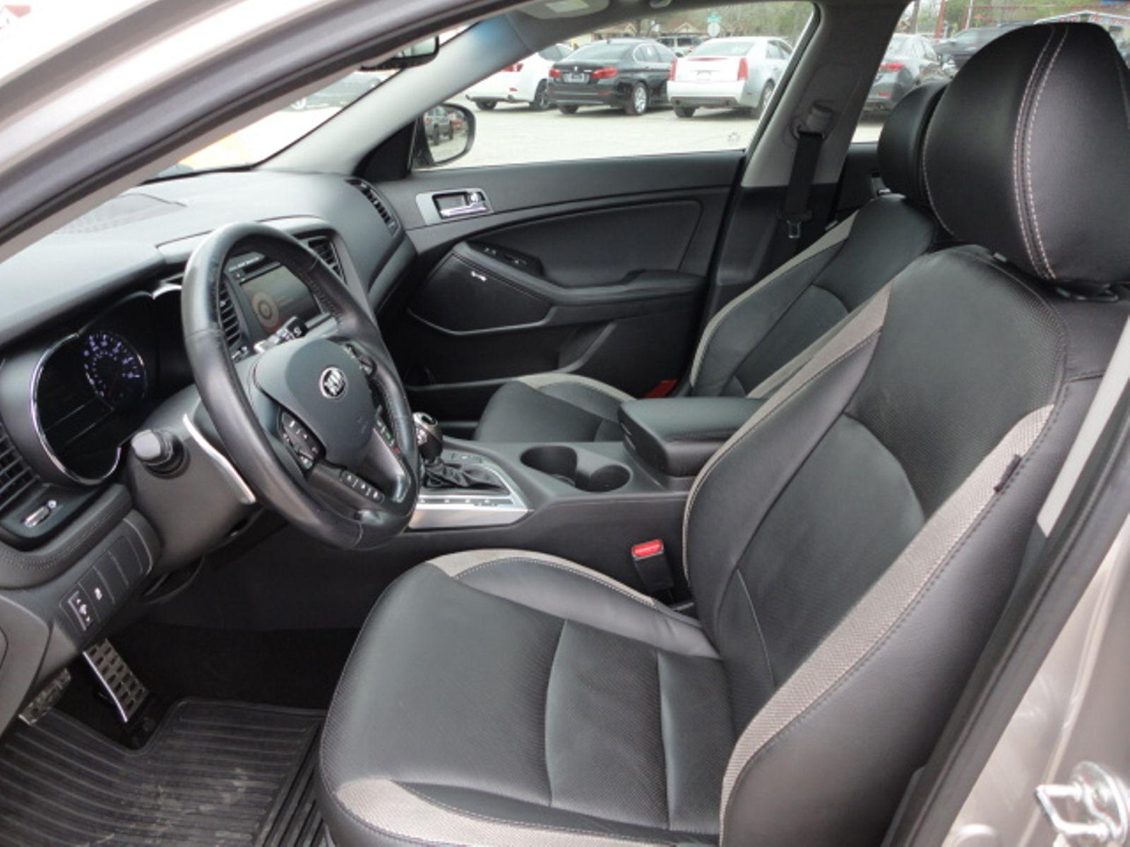 interior platinum review sx kia optima