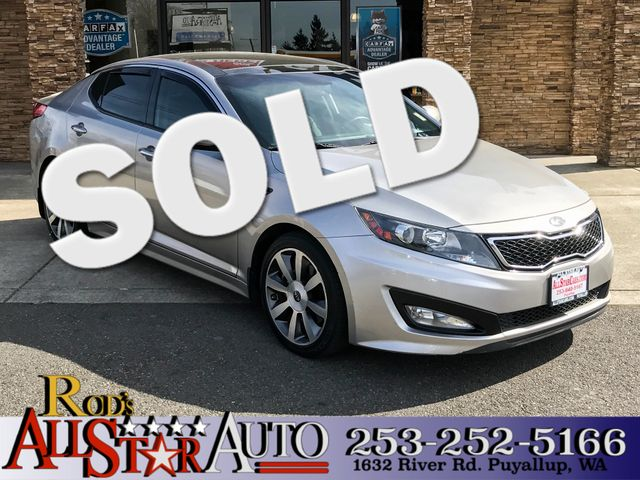 2013 Kia Optima SX The CARFAX Buy Back Guarantee that comes with this vehicle means that you can b