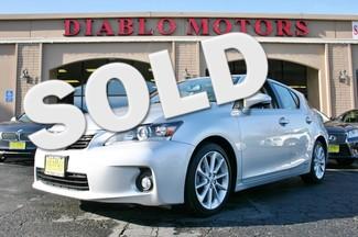 2013 Lexus CT 200h Hybrid Hatchback with Premium and Navigation San Ramon, California
