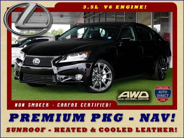 2013 Lexus GS 350 AWD - NAVIGATION-PREMIUM/COLD WEATHER PKGS! Mooresville , NC 0