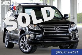 2013 Lexus LX 570  AWD Luxury Heated and Cooled Seats