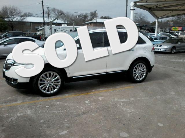 2013 Lincoln MKX SUV San Antonio, Texas 0