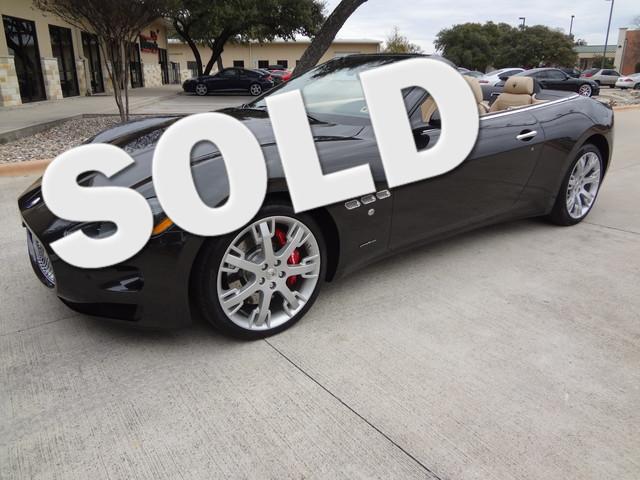 2013 Maserati GranTurismo Convertible Austin , Texas 0