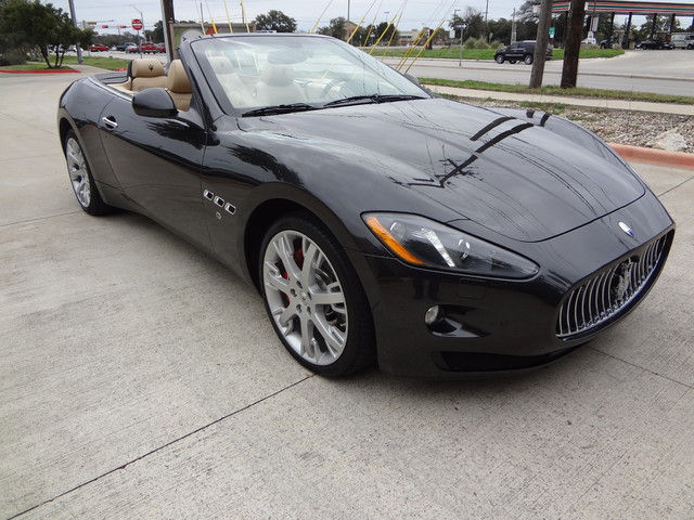 2013 Maserati GranTurismo Convertible Austin , Texas 5