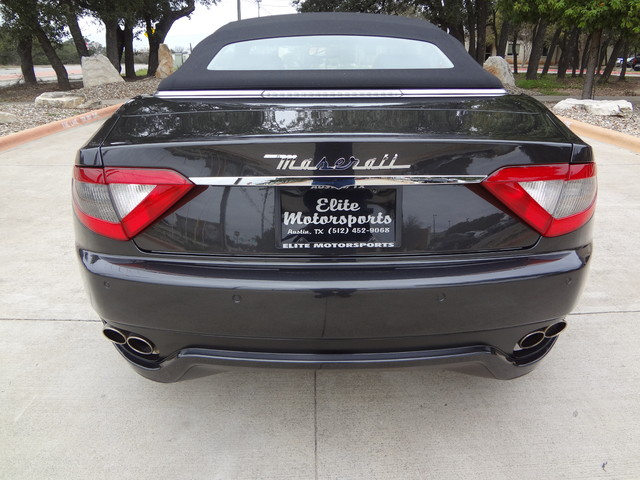 2013 Maserati GranTurismo Convertible Austin , Texas 13