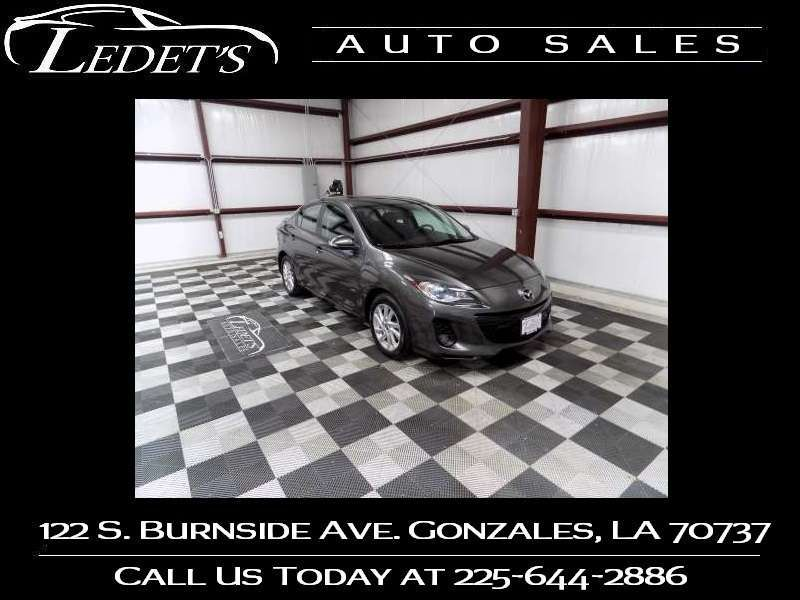 2013 Mazda 3 i Grand Touring - Ledet's Auto Sales Gonzales_state_zip in Gonzales Louisiana