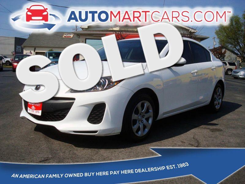 2013 Mazda Mazda3 i SV | Nashville, Tennessee | Auto Mart Used Cars Inc. in Nashville Tennessee
