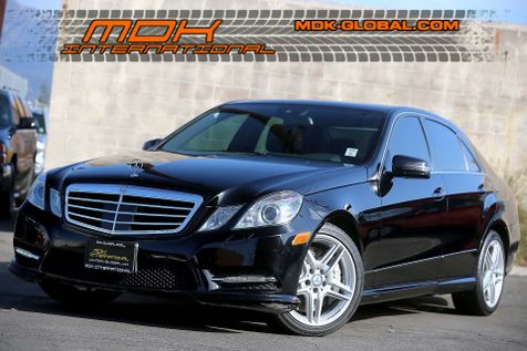2013 Mercedes-Benz E 550 Sport - 4Matic - P2 pkg - Keyless GO in Los Angeles