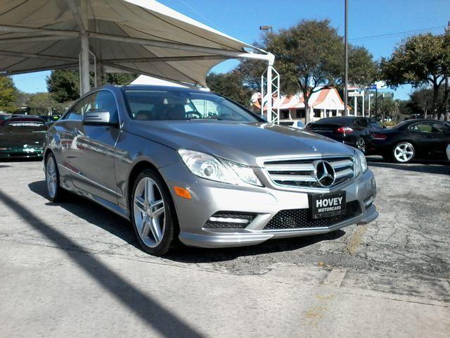 2013 Mercedes-Benz E 550 San Antonio, Texas 1