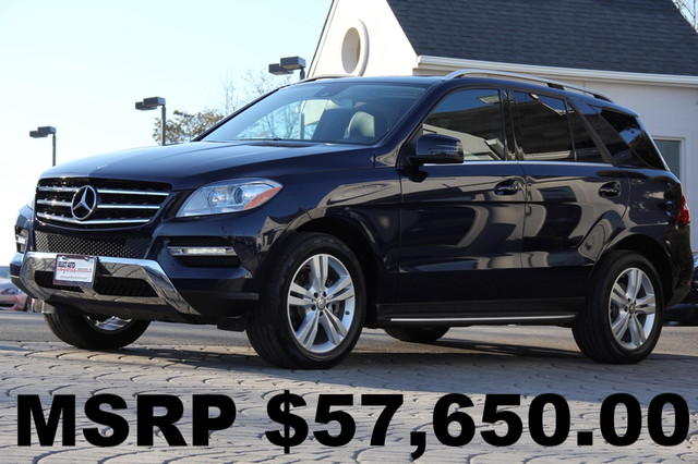 2013 Mercedes M-Class AWD ML350 4MATIC 4dr SUV AMFM CD Player CD Changer Anti-Theft Sunroof A