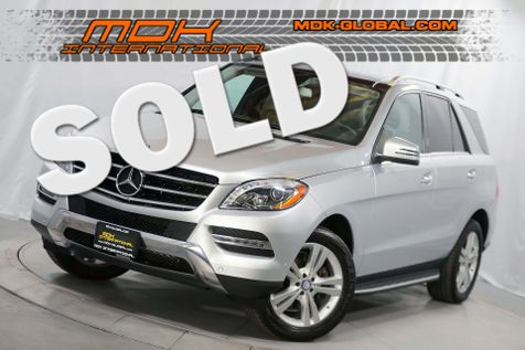 2013 Mercedes-Benz ML 350 - P2 - Panoramic roof - LED headlights in Los Angeles