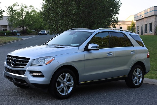 2013 Mercedes-Benz ML 350 Mooresville, North Carolina 2