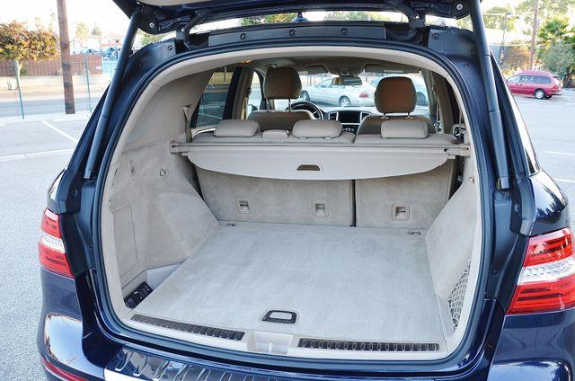 2013 Mercedes-Benz ML 350  AUTO - 33K MILES - NAVI - HTD STS - SUNROOF Reseda, CA 18