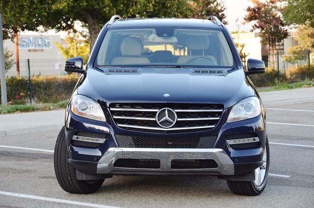 2013 Mercedes-Benz ML 350  AUTO - 33K MILES - NAVI - HTD STS - SUNROOF Reseda, CA 8