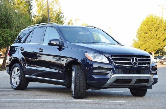 2013 Mercedes-Benz ML 350  AUTO - 33K MILES - NAVI - HTD STS - SUNROOF Reseda, CA 9