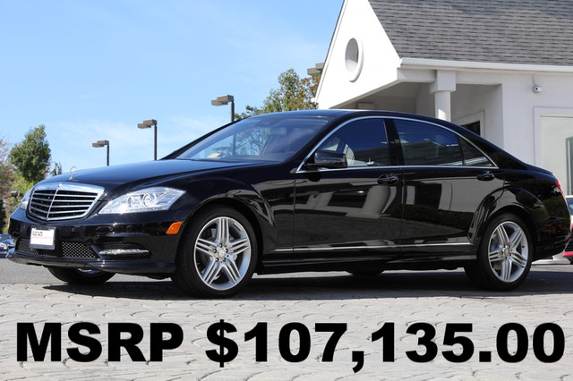 2013 Mercedes S-Class AWD S550 4MATIC 4dr Sedan AMFM CD Player CD Changer Anti-Theft Sunroof