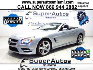 2013 Mercedes-Benz SL 550 Premium Package Doral (Miami Area), Florida